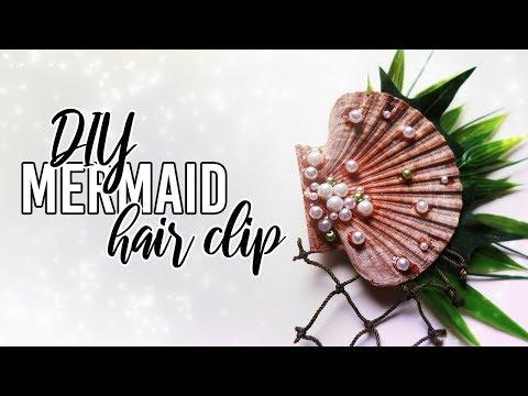 Swimmable Mermaid Hair Clip Accessory DiY
