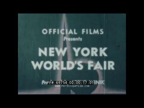 1939 - 1940  NEW YORK WORLD'S FAIR IN COLOR   FUTURAMA EXHIBIT 69754