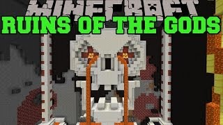 minecraft ruins of the gods roller coaster can you survive the gods map