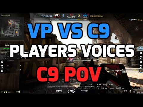 Katowice 2015 - VP vs C9 with players communications (C9 POV in English)