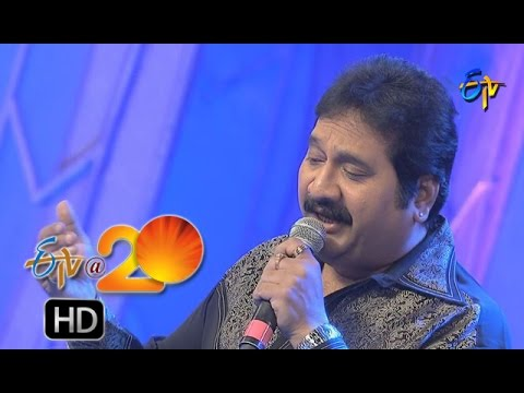 Mano,Srilekha Performance - Telusa Manasa Song in Nizamabad ETV @ 20 Celebrations