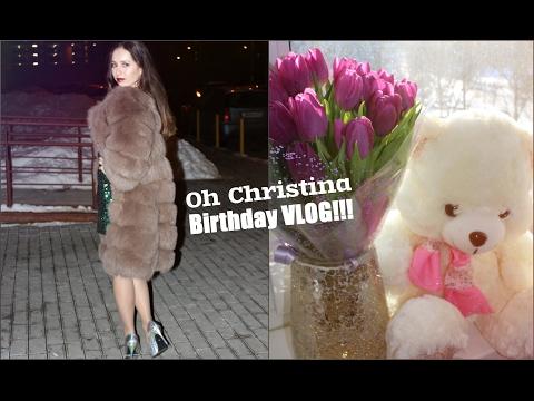 ВЛОГ: МОЙ ДЕНЬ РОЖДЕНИЯ ♡ MY BIRTHDAY VLOG / Oh Christinaиз YouTube · С высокой четкостью · Длительность: 11 мин34 с  · Просмотров: 700 · отправлено: 06.02.2017 · кем отправлено: Oh Christina