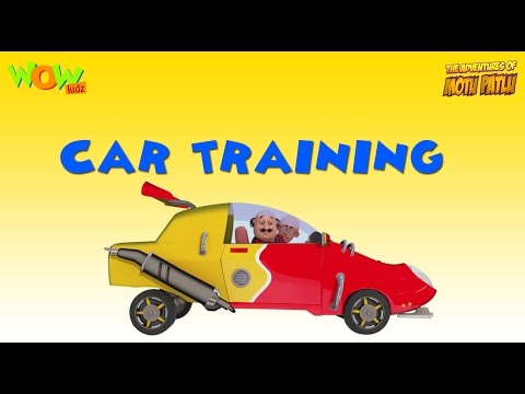 Motu Patlu Vacation Special -Car Training - As seen on Nicke