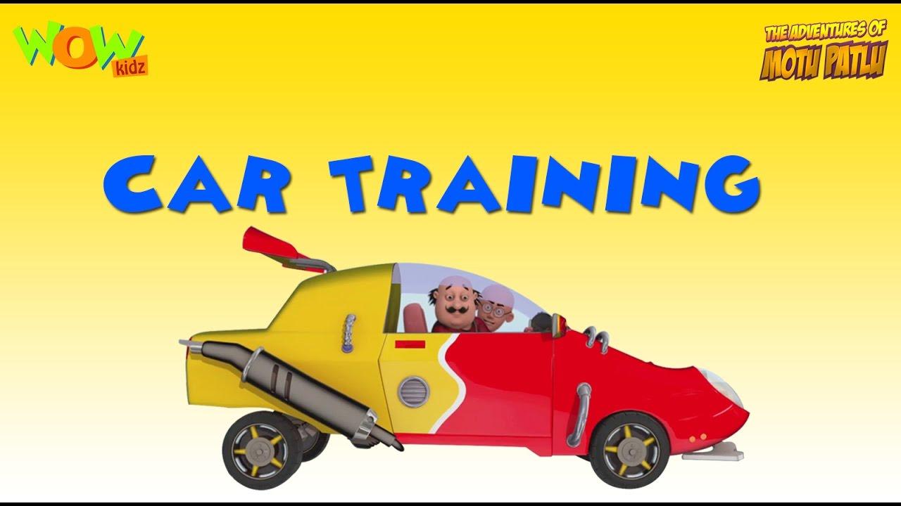 motu patlu car cartoon video