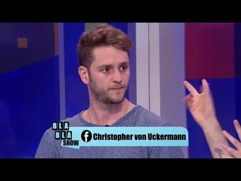 CHRISTOPHER VON UCKERMANN nos habla de sus proyectos Bla Bla Show 170817