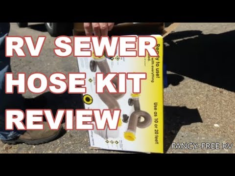 Camco Revolution Swivel Rv Sewer Hose Kit Review Tutorial Fancy Free Rv Youtube