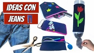 Ideas para Transformar su JEANS viejo