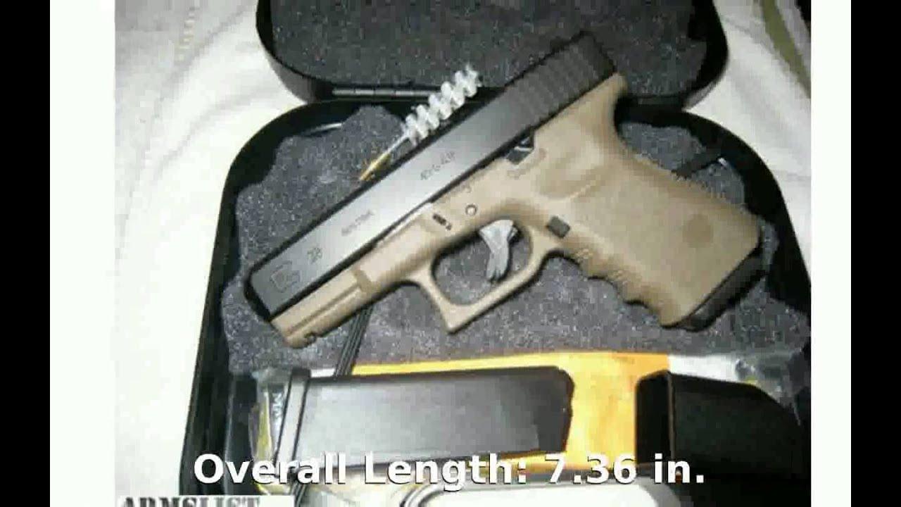 Glock 38 .45 Auto Pistol - YouTube