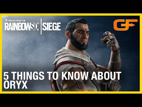 Rainbow Six Siege: 5 Things to Know About Oryx w/ Get_Flanked | Ubisoft