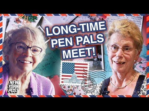 Kat Jackson - Pen Pals for 65 Years Meet