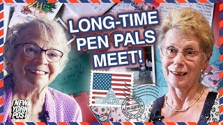 Snail Mail Pen Pals of 65 Years Meet for the First Time | New York Post