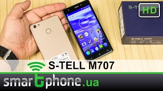 S-TELL M707 - Обзор смартфона. Утонченный бюджетник!