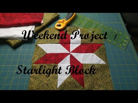 Weekend Project - Starlight Quilt Block
