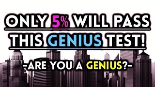Only Will Genius Pattern Test