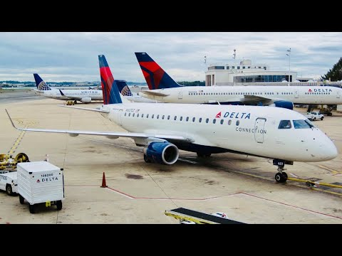 TRIP REPORT | DELTA | New York LGA - Houston IAH | Embraer 175