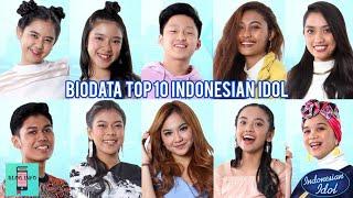 Biodata 10 Besar Indonesian Idol 2020
