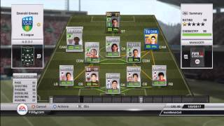 IWCs Ultimate Teams: K League Squad ft. Blue TOTY (FIFA 12) Thumbnail