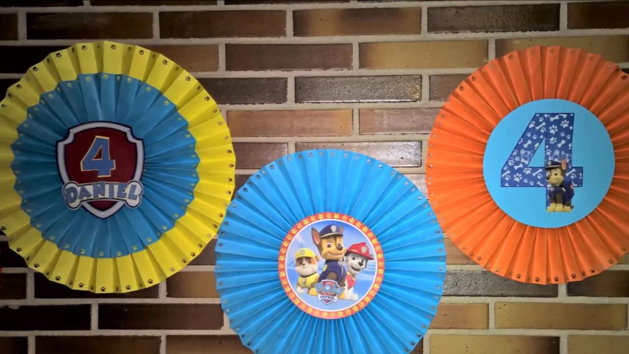 Diy rosetas grandes para decorar en fiestas infantiles de - Ideas para cortinas infantiles ...