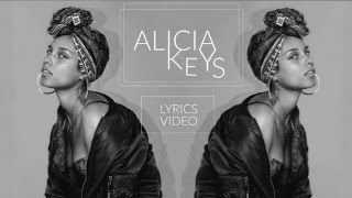 Alicia Keys - In Common (Lyrics Video)