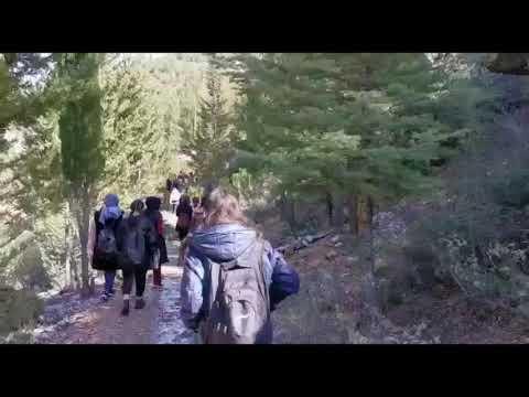 Üniversite Öğrencileri Değirmendere Kanyonunda Yürüdüler