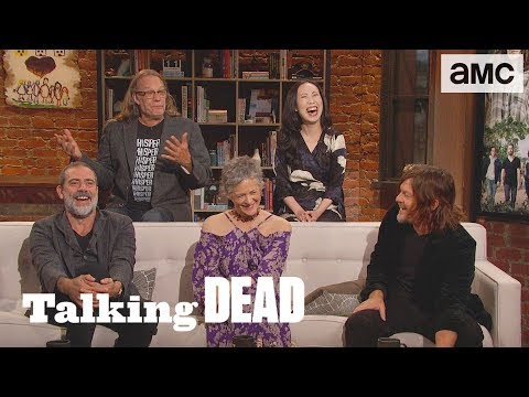 'Does Norman Reedus Do His Own Stunts?' Season Premiere  Questions   Talking Dead