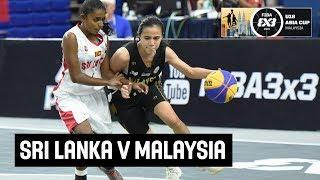 Sri Lanka v Malaysia - Women's Full Game - FIBA 3x3 U18 Asia Cup 2018