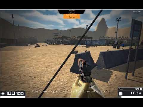 Gaimerz proprietary FPS - Desert Warfare