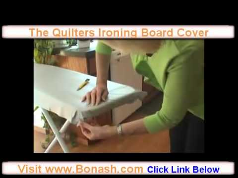 Quilters Ironing Board Cover. - YouTube : quilting ironing board cover - Adamdwight.com