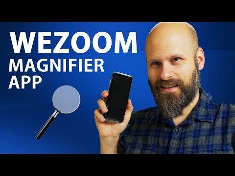 WEZOOM Magnifier App For Android - The Blind Life