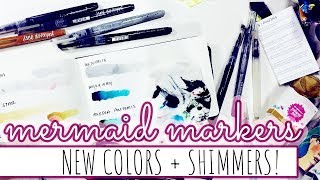 Jane Davenport Mermaid Markers | NEW COLORS!
