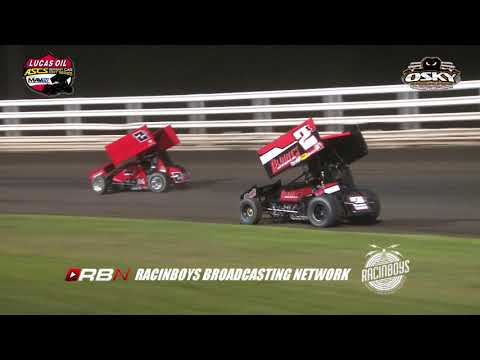 LUCAS OIL ASCS NATIONAL TOUR HIGHLIGHTS FROM OSKALOOSA IA  8.6.2019