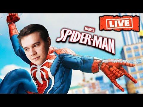 СТРИМ! ОБЗОР НОВОГО ЧЕЛОВЕКА-ПАУКА! ( Spider-Man PS4 ) ИГРАЕМ - ОБЩАЕМСЯ