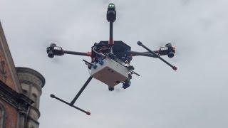 Z powietrza walczą o jakość powietrza. W Bytomiu dron walczy z niską emisją