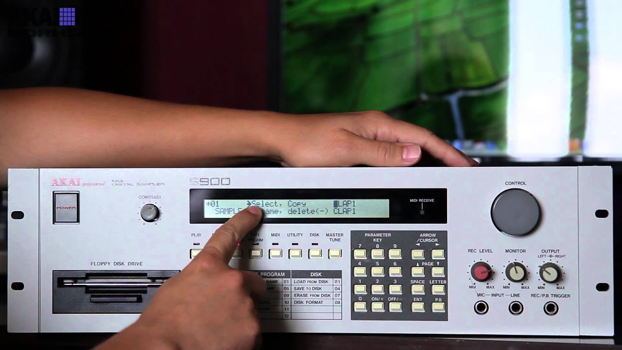 akai s900 s950 akai s900 s950 review manual in russian rh youtube com akai s950 service manual pdf MPC Akai S950