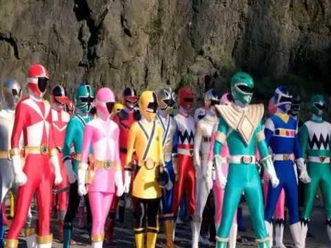 Power rangers super megaforce rangers legendarios latino youtube - Moto power rangers megaforce ...