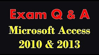 In this tutorial get a quick overview of important exams questions ...