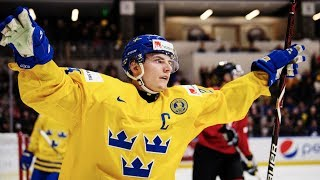 Lias Andersson 2018 IIHF WJC Highlights