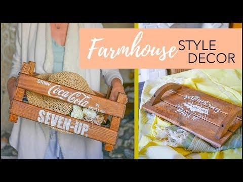 Farmhouse Style : ИДЕИ ПОДЕЛОК из деревянного  наличника / TSVORIC