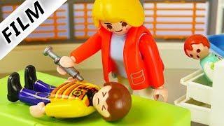 Playmobil Film deutsch MAMA ARBEIT IN KINDERKLINIK Emma schleicht sich heimlich rein | Familie Vogel