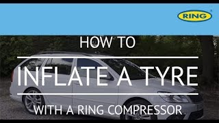 How to Inflate a Tyre with a Ring Air Compressor