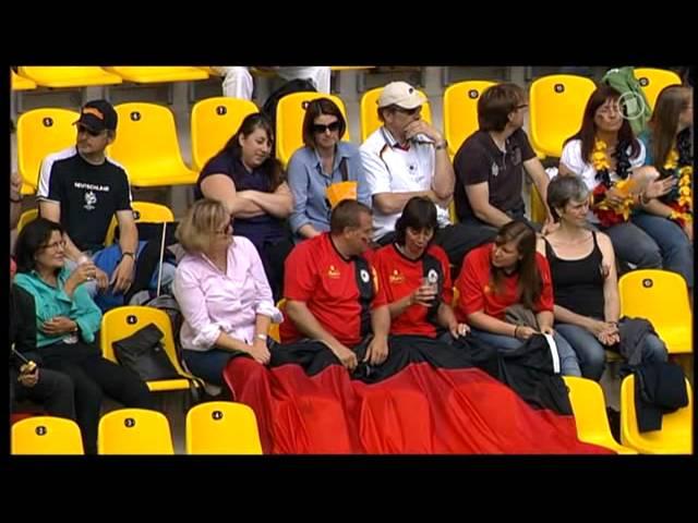 Deutschland - Niederlande  Testspiel zur WM 2011 --  1/9 #1