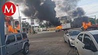 Así fueron las balaceras y bloqueos en Culiacán, Sinaloa