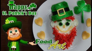 Saint Patrick's Food Art - (Saint Patrick's Day Special)