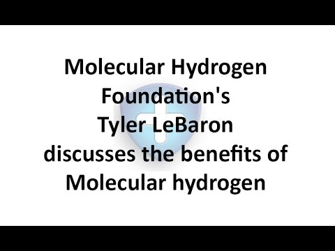 Molecular Hydrogen Foundation's Tyler LeBaron discusses the benefits of Molecular hydrogen