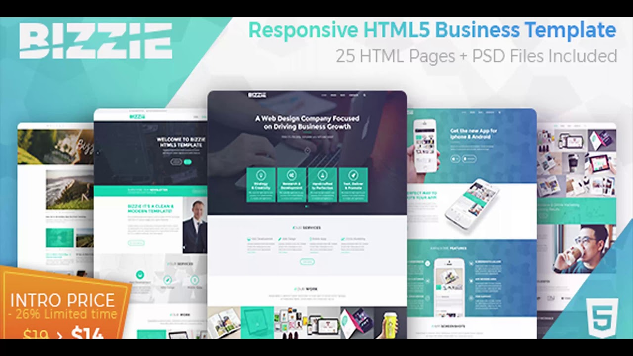Bizzie responsive business html5 template themeforest website bizzie responsive business html5 template themeforest website templates and themes fbccfo Image collections