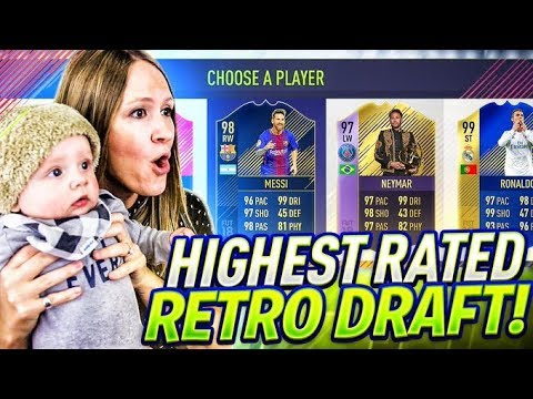 BEATING WROETOSHAW'S RETRO FUT DRAFT FIFA 18 RECORD!!