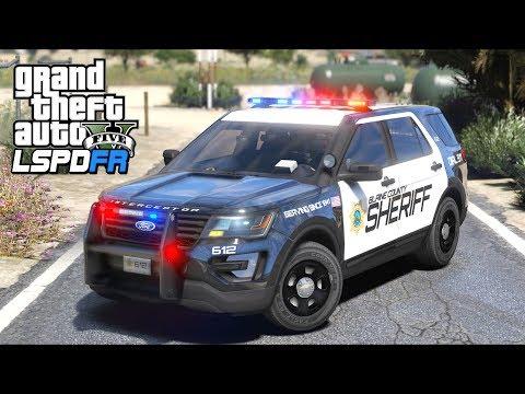 GTA 5 Mods - Street Race Gone WRONG!! (LSPDFR Gameplay)