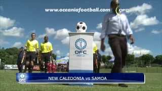 2012.06.05 HIGHLIGHTS OFC NATIONS CUP - NCL vs SAM