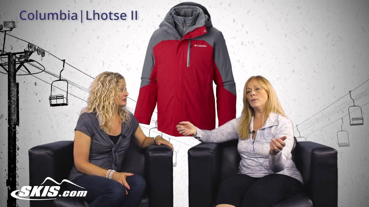 2016 Columbia Lhotse II Mens Jacket Overview by SkisDotCom - YouTube