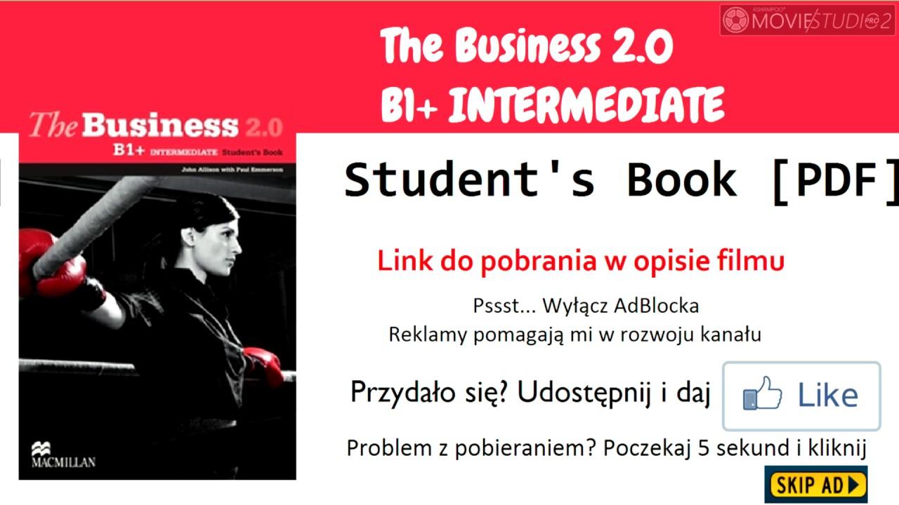 The Business 2.0 B1+ Intermediate Students Book